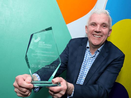 Paul - New Frontiers Award 2020